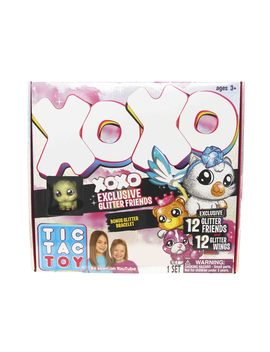 Tic Tac Toy Xoxo Exclusive Glitter Friends by Tic Tac Toy