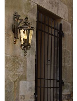 "Casa Marseille™ 21 3/4"" High Bronze Outdoor Wall Light by Lamps Plus"