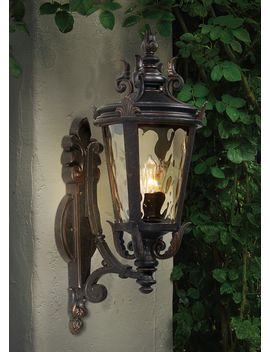 "Casa Marseille™ 22"" High Bronze Outdoor Wall Light by Lamps Plus"
