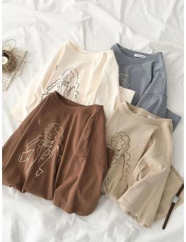 Casual Women's T Shirts Fashion Harajuku Printing Short Sleeved Shirt Summer Women Cotton Tops Mujer Verano 2019 by Ali Express.Com