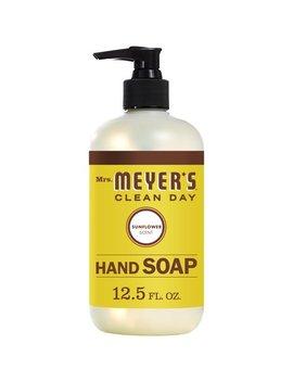 (3 Pack) Mrs. Meyer's Liquid Hand Soap, Sunflower, 12.5 Oz by Mrs. Meyer's Clean Day
