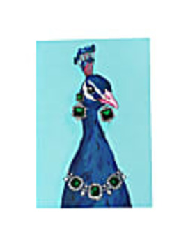 Peacock A5 Notebook by Perky