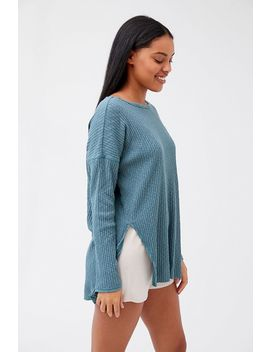 Out From Under Late Nights Long Sleeve Top by Out From Under