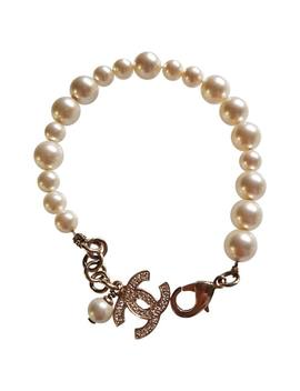 Cc Pearls Bracelet by Chanel