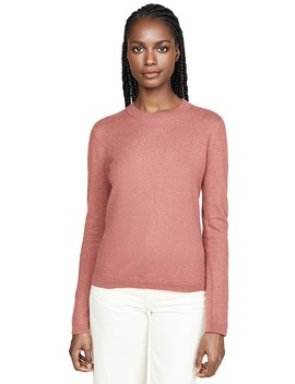 Fitted Crew Cashmere Sweater by Vince