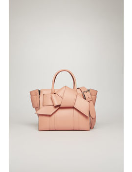 Small Musubi Bayswater Small Classic Grain Rosa by Acne Studios