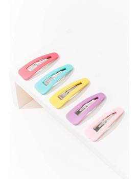 Multicolored Hair Barrettes by Forever 21