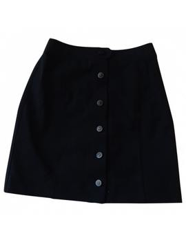 Wool Mini Skirt by Chanel