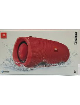 Jbl Xtreme 2 Portable Bluetooth Waterproof Speaker, Red *Xtreme2 Red by Jbl