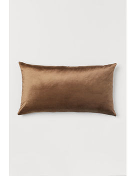 Velvet Pillowcase by H&M