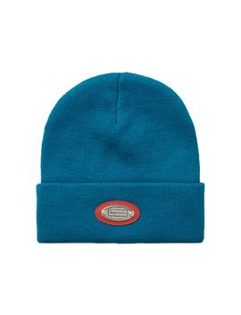 Supreme Metal Plate Beanie Dark Teal by Stock X