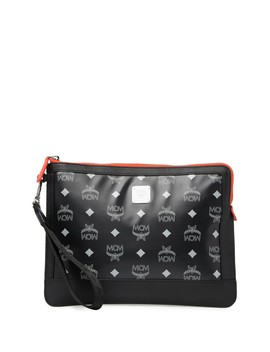 Logo Zip Pouch by Mcm