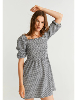 Robe Vichy by Mango