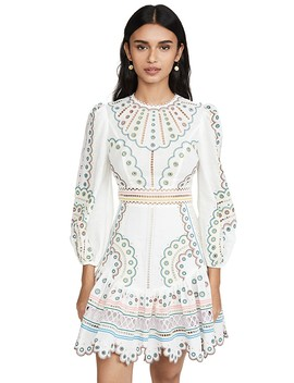 Peggy Multi Short Dress by Zimmermann