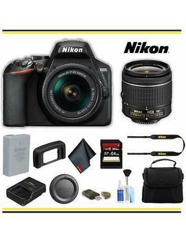 Nikon 1590 D3500 Dslr Camera With 18 55mm Lens 24.2 Mp Starter Bundle by Ebay Seller