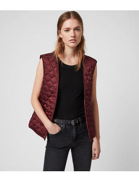 Maizie 2 In 1 Leather Biker Jacket by Allsaints