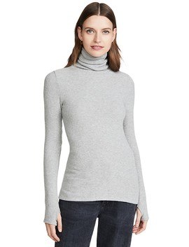 Sweater Knit Turtleneck by Enza Costa