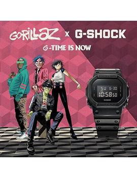 G Shock X Gorillaz Basic Black Promotion Limited Edition Watch Dw 5600 Bb 1 by G Shock