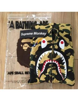 1st Camo Shark Full Zip Hoodie by Bape  ×