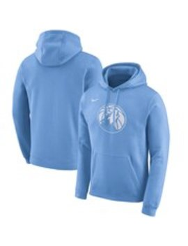 Men's Minnesota Timberwolves Nike Blue 2019/20 City Edition Club Pullover Hoodie by Nba Store