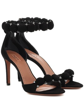 Studded Suede Sandals by Alaïa