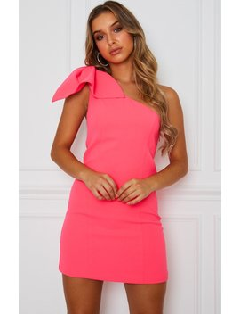 Stella Mini Dress Watermelon by White Fox