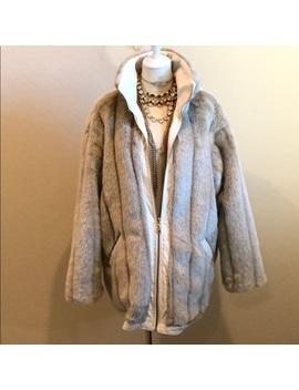 Blue Studio Reversible Faux Fur Coat (M) by Blue Studio