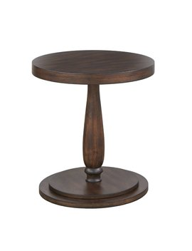 Keim Circular End Table by Three Posts