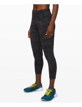 "Fast And Free High Rise Crop Ii 23"" Non Reflective Online Only Nulux™ by Lululemon"