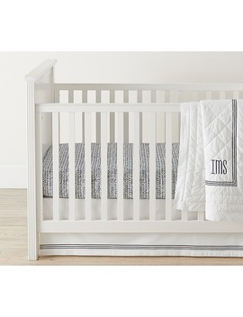 Sateen Broken Arrow Fitted Crib Sheet by Pottery Barn Kids