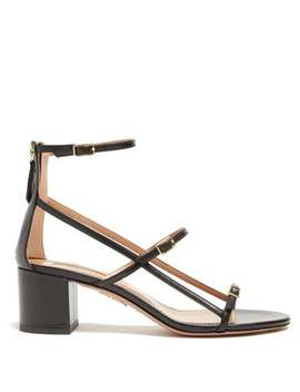 Supermodel 50 Buckled Leather Sandals by Aquazzura
