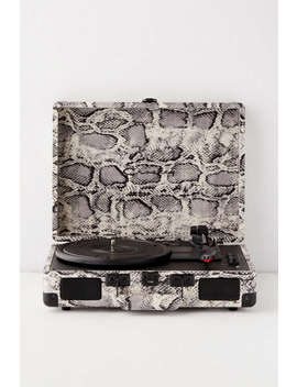 Crosley Uo Exclusive Snakeskin Cruiser Bluetooth Record Player by Crosley