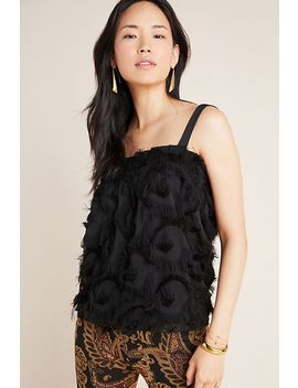 Delia Fringed Tank by Waverly Grey