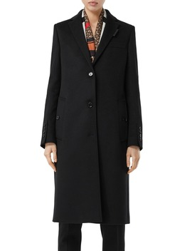 Bramley Wool & Cashmere Car Coat by Burberry