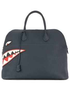 1994 Hermès Boldie Shark 45 Tote Bag by Hermès Pre Owned