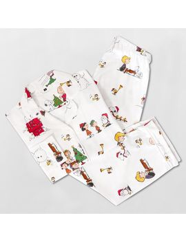 Peanuts® Organic Flannel Pajama Set by P Bteen