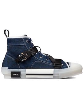 Dior B23 High Top Blue by Stock X