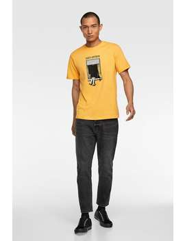 Window Print T Shirt by Zara