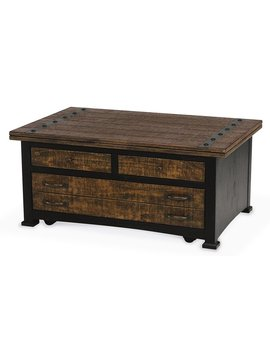 Bradbury Lift Top Coffee Table With Storage by Winston Porter