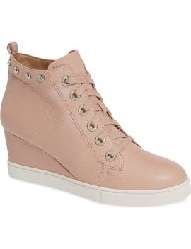 Flint Wedge Sneaker by Linea Paolo
