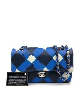 Rare Medium Airlines Flap Black Shoulder Bag by Chanel