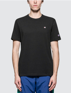 Back Script Logo S/S T Shirt by Champion Reverse Weave