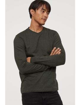 T Shirt Jersey Coupe Régulière by H&M