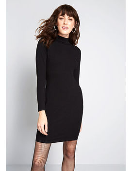 Most Favored Mock Neck Dress by Modcloth