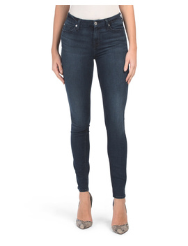 Skinny Jeans With Squiggle Pocket by Tj Maxx