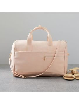 Ecotech Luggage   Vegan Leather Duffels by West Elm