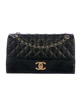 Jumbo Soft Elegance Flap Bag by Chanel