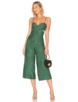 X Revolve Joelle Jumpsuit In Emerald Green by House Of Harlow 1960