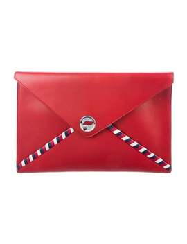 Airlines Envelope Clutch by Chanel