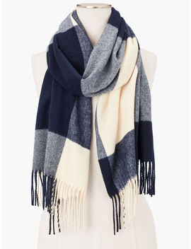 Check Scarf by Talbots